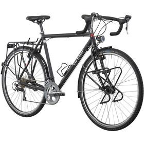 Ortler Grandtourer 2 - Bicicleta de Trekking para hombre - negro